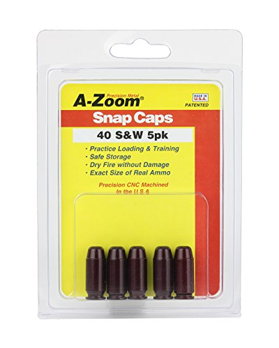 A-ZOOM 40 S and W Precision Snap Caps (5 Pack)