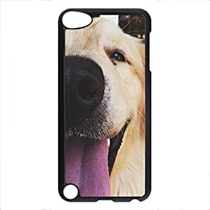 iCustomonline Cute Dog Personalized Hard PC Black Case Cover for iPhone 5 5S
