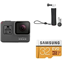GoPro HERO5 Black w/ Handler and SD Card