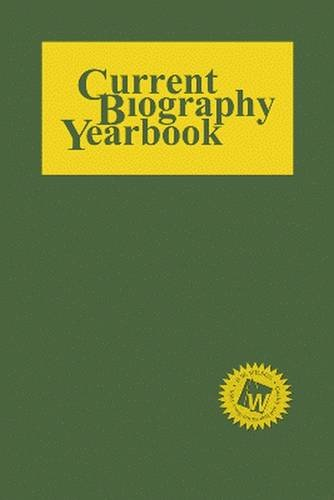 Current Biography Yearbook 2014 by Hw Wilson Co
