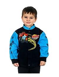 JH Design Kids Blaze & Monster Machine Black Jacket for Toddler & Youth Boy's