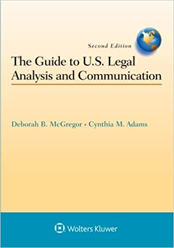 Guide to us legal analysis and communication aspen coursebook guide to us legal analysis and communication aspen coursebook 2nd edition fandeluxe
