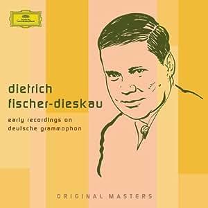 DIETRICH FISCHER-DIESKAU Early Recordings on Deutsche Grammophon