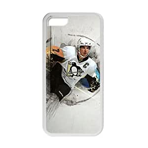 WAGT Hockey NHL Sidney Crosby Pittsburgh Penguins Phone Case for Iphone 5c