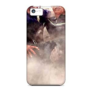 XiFu*MeiNew Snap-on Mycase88 Skin Cases Covers Compatible With iphone 5/5s- Will_smith_actor_man_hancock_movies_beach__reflections-05XiFu*Mei