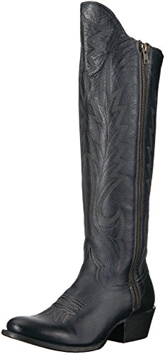 (Stetson Women's Idol Western Boot, Blue, 6.5 Medium US)