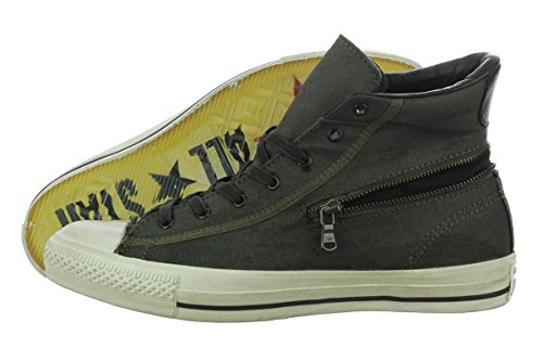 Converse X Chuck Taylor Zip Hi John Varvatos 142980c Moda Uomo Sneakers Scarpe Casual Dark Oliva / Nero 6.5 D (m) Us