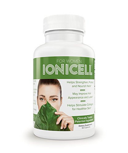 IoniCell for Women | Strengthens Nails and Hair, Stimulates Collagen for Healthier Skin -
