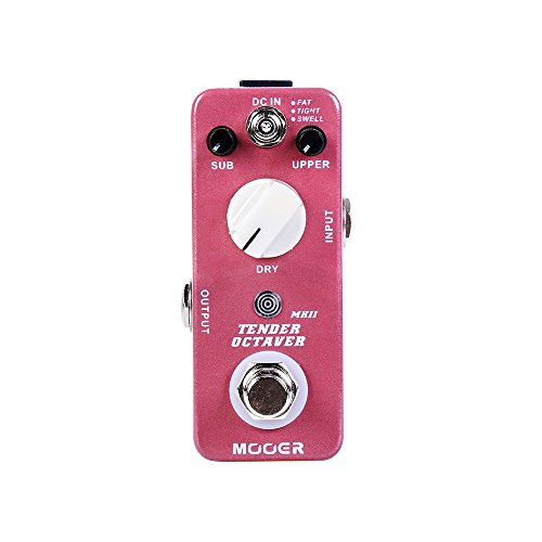MOOER Precise Octave Pedal Tender Octaver MKII by MOOER