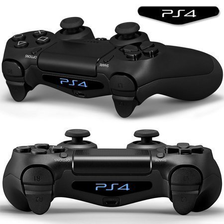 UUShop-Led-Light-Bar-Decals-Stickers-for-Playstation-Ps4-Controller-Qty-2-Words