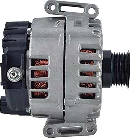New DB Electrical 400-40134 Alternator for 3.5L 6 Clock 180 Amp Internal Fan Type Solid Pulley Type Internal Regulator CW Rotation 12V Mercedes Benz C350 2012 2013 2014 2015 014-154-33-02-80