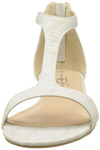 The Factory Ouvert beige Femme Divine Beige Agata Sandales Bout CCR5wx
