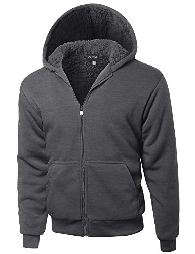 Drawstring Lined Sweatshirt - 6