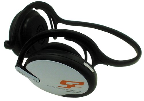 Sony SRF-H11 S2 Sports AM / FM Radio Walkman with Rear Reflector Headphones (Discontinued by Manufacturer) by Sony