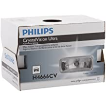 Philips H6024 CrystalVision ultra Upgrade Xenon-Look Halogen Headlight, 1 Pack