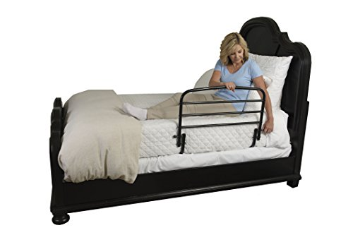 "Adjustable Beds Reviews >> Stander 30"" Safety Adult Bed Rail - Home Elderly Bedside ..."