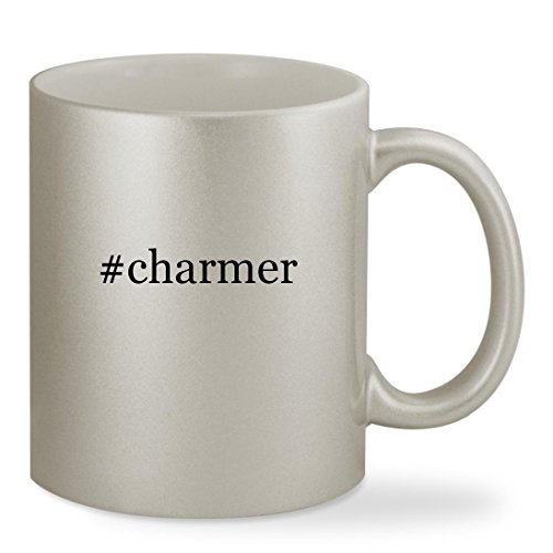 Social Media Icon Costumes (#charmer - 11oz Hashtag Silver Sturdy Ceramic Coffee Cup Mug)