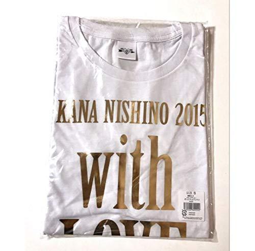 西野カナ  With LOVE Tour グッズ Tシャツ Sサイズの商品画像