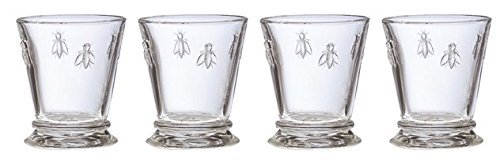La Rochere French Bee Tumbler 10 Ounce, Set of 4