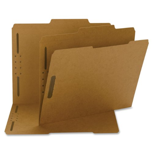 - Smead Fastener File Folder, 2 Fasteners, Reinforced 2/5-Cut Tab Right of Center Position, Guide Height, Legal Size, Kraft, 50 per Box (19880)