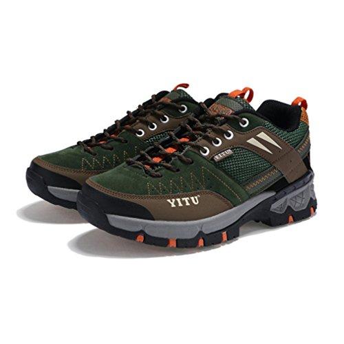 caño adulto Unisex botas bajo XIGUAFR Verde de Eqwv0FE4x