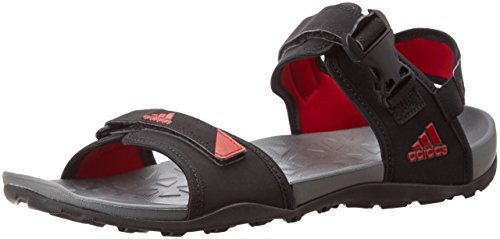 adidas Men's Hoist Utiblk,  Uniora and Black Sandals and Floaters