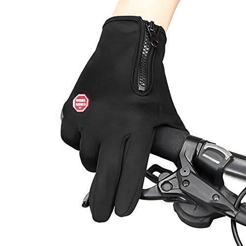 Kingdom GB™ Touch screen Guanti antipioggia per ciclismo, sport all'aria aperta, campeggio, guida, giardinaggio sport all' aria aperta