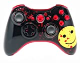 ''Bloody Smile'' Xbox 360 Rapid Fire Custom Modded Controller 40 Mods for All Major Shooter Games, Quick Scope, Sniper Breath, Burst Fire, Jump Shot and More