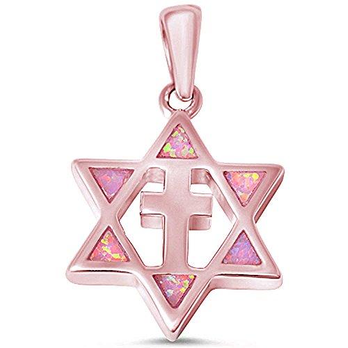 Opal Star Of David - 5