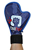 Cold Therapy Reusable Ice Pack Glove For Sore Hands By ChillPain. ChillPain Ice Pack Gloves are Exclusively Designed for Women and Men With Small to Medium Size hands