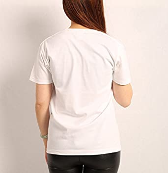 LO SECON Girls Round Neck tee Durable Short Sleeve Training T Shirt for Women