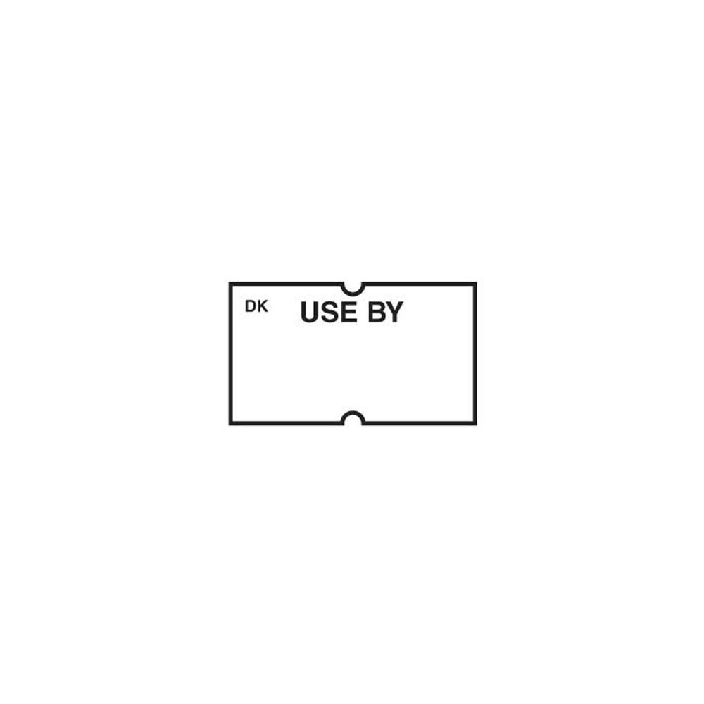 DayMark 110428 White Use By Label for DM-3 Label Gun - 8000 / PK Day Mark Safety Systems