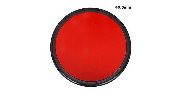 46/mm completa completo rojo color especial lente filtro Protector de lente para Canon Nikon Sony lente de la c/ámara digital