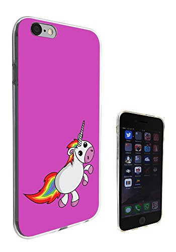 1355 - Cool Fun Trendy Cute Kawaii Nature Unicorn Horse Fantasy Whimsical (4) Design iphone 6 Plus / 6S plus 5.5'' Fashion Trend CASE Gel Rubber Silicone All Edges Protection Case Cover