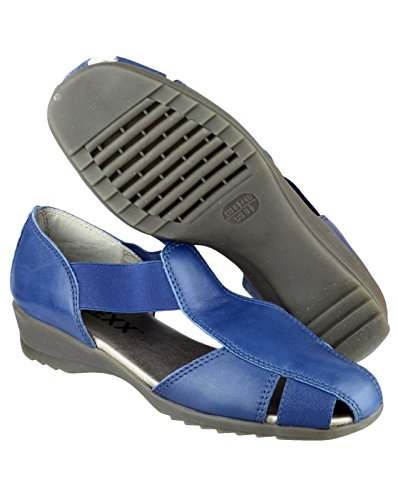 Leather Ladies The Cushion Summer Girls Lining Blue Cashmere Shoes Womens T Flexx Mr r1q0I1
