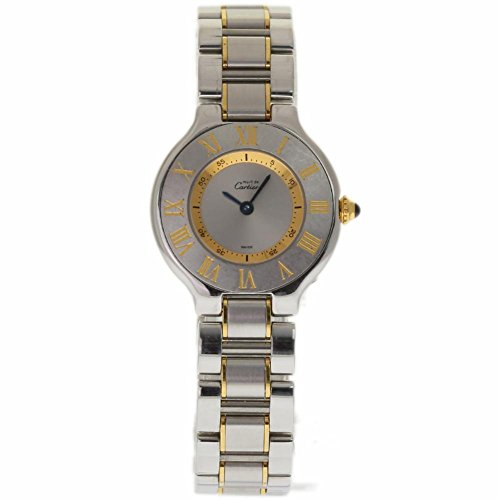 Cartier Must De Cartier 21 swiss-quartz womens Watch 1330 (Certified Pre-owned)