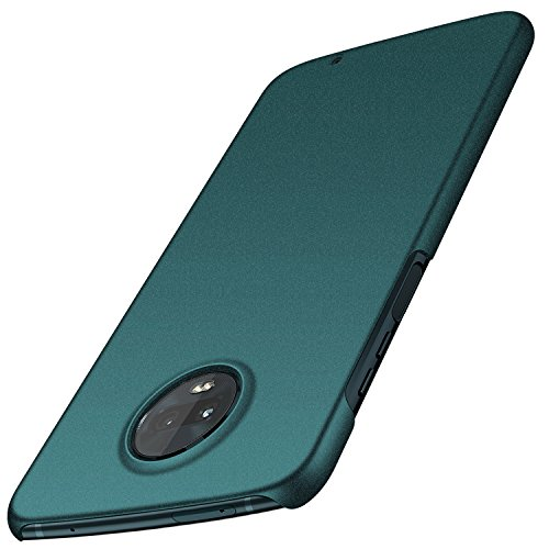 Moto Z3 Play Case, Moto Z3 Case, Arkour Minimalist Ultra Thin Slim Fit Cover with Non Slip Matte Surface Hard Cases for Motorola Moto Z3 / Moto Z3 Play (Gravel Green) ()