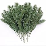 Best Christmas Garlands - JAROWN 25pcs Artificial Pine Green Leaves Needle Garl Review