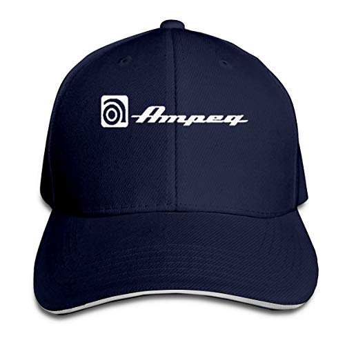 Pzenwts Ampeg Amp Fashion Leisure Soft Sun Hat,Funny Vintage Baseball Cap for Men Women Navy