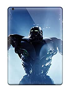 For CaseyKBrown Ipad Protective Case, High Quality For Ipad Air Zeus In Real Steel Skin Case Cover