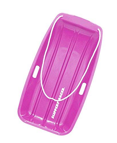 UPC 851684007232, Slippery Racer Downhill Sprinter Toboggan Snow Sled, Pink