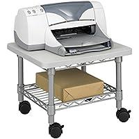 Safco Products 5206GR Under Desk Printer/Machine Stand, Gray