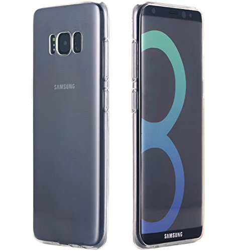 Galaxy S8 Plus Case, AICase [Scratch Resistant] Clear Transparent TPU Soft Hybrid Protective Bumper Case Cover for Samsung Galaxy S8 Plus (2017 Release) 1 Fit For: Specially designed for Samsung Galaxy S8 Plus (2017). Not for Galaxy S8 Premium Material: Made of premium soft TPU. The soft rounded edges make for comfortable grip. Perfect Design: Lightweight case, precise cutouts for complete access to all buttons, cameras, speakers, and ports.