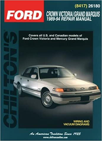 ford crown victoria 1999 manual