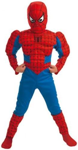 Cesar Industries H947003 - Disfraz de spiderman para niño (5 años ...