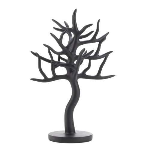 Black Jewelry Holder Tree - Lucite Eyeglass Frames