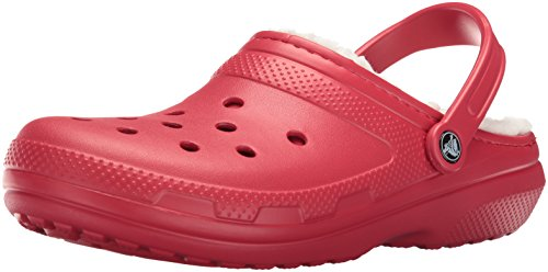 Crocs Unisex Classic Lined Clog,Pepper/Oatmeal,10 US Men/12 US Women by Crocs