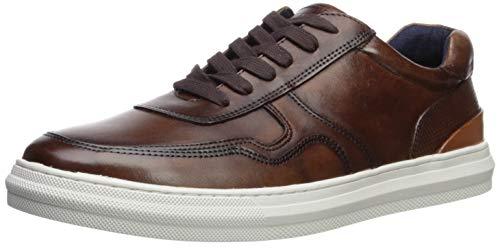 Steve Madden Men's SHELLTER Sneaker Cognac Leather 12 M US