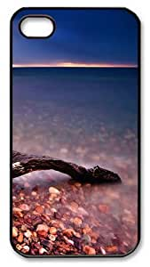 iPhone 4S Case and Cover -DriftwoodPC case Cover for iPhone 4 and iPhone 4s ¡§CBlack