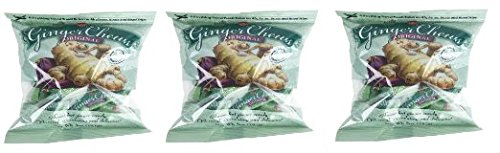 Chews People Ginger - 3 Packs The Ginger People Ginger Chews Original 5 Oz Bags